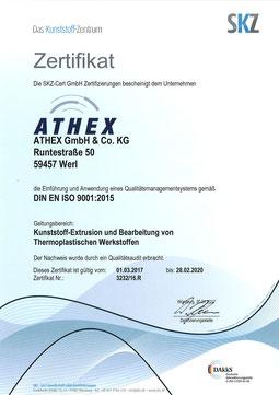 ATHEX – DN ISO 9001:2015