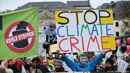 Demo, Klimawandel, Naturkatastrophen