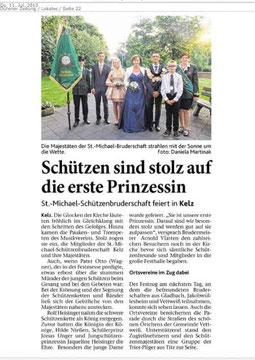 Dürener Zeitung 11.07.2013