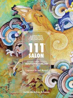 Claude Rossignol - Affiche Salon des Artistes Orléanais 2018