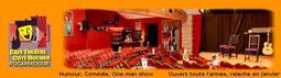 """Café Théâtre """"Côté rocher"""" Rocamadour"""