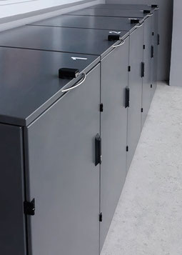 Mülltonnenbox OSLO für 5 Tonnen