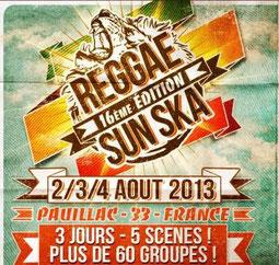 festival reggae sun ska 2013