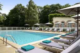 Pool im Les Hauts de Loire Hotel