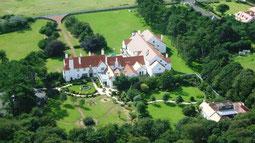 Lochgreen Hotel von oben