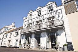 Aussenansicht St. Mawes Hotel