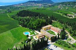 Villa Cordevigo von oben!