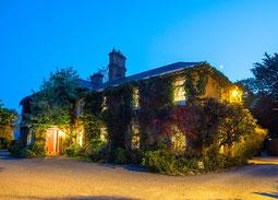 Carrig House in Abendstimmung