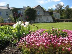 Gregans Castle vom Garten aus