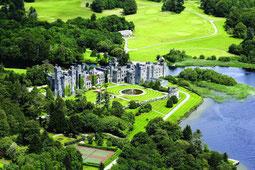 Ashford Castle Luftbild