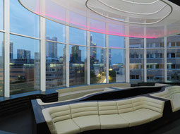 Lounge mit Panoramablick