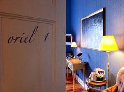 Manorhaus Ruthin - Blick ins Oriel 1