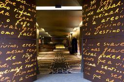 Eingangsbereich des Teatro Design Hotels