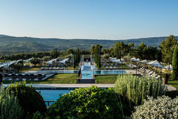 Coquillade Village mit Garten in der Provence