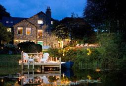 Gilpin Hotel & Lake House in Abendstimmung