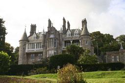 Chateau Rhianfa Blick vom Park