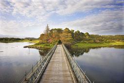 Isle of Eriska - Steg auf die Insel