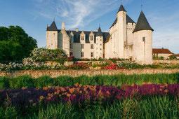 Chateau du Rivau mit Garten