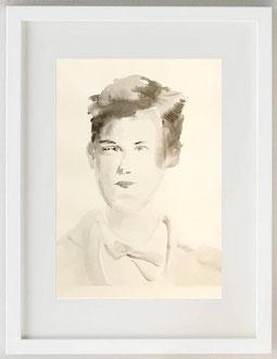"""""""SOGNATO PER L'INVERNO (A. RIMBAUD)"""", 2020, Acquerello, 20 x 30"""