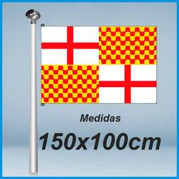 Banderas Tabarnia 150x100cm don bandera.