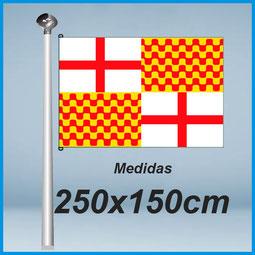 Banderas Tabarnia 250x150cm don bandera.