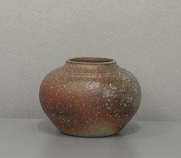 信楽自然釉一環壷