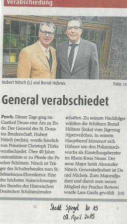Quelle: Stadt Spiegel, April 2015
