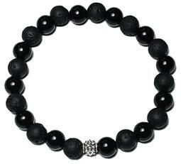 BEHERO Herren - Armband Phantom Black