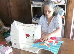 Quilting Business in Caohagan