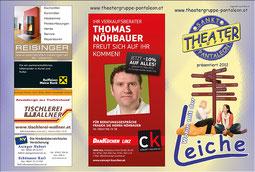 2012 Flyer Theatergruppe St. Pantaleon