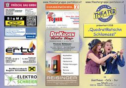 2018 Flyer Theatergruppe St. Pantaleon