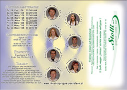 2008 Flyer Theatergruppe St. Pantaleon