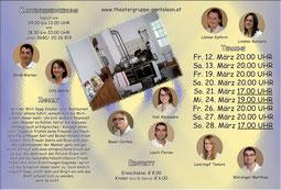 2010 Flyer Theatergruppe St. Pantaleon