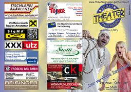 2015 Flyer Theatergruppe St. Pantaleon