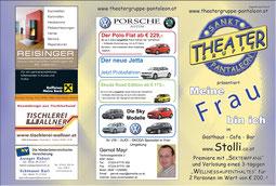 2011 Flyer Theatergruppe St. Pantaleon