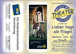 2009 Flyer Theatergruppe St. Pantaleon