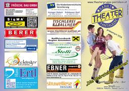 2016 Flyer Theatergruppe St. Pantaleon