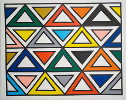 "Hartmut Elbrecht ""ohne Titel"", 1988, 201 x 161 cm, Acryl auf Leinwand, Preis: 9000.-€"