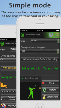 Mimic the Swing of the Pros, Improving Distance, Accuracy and Consistency Across Your Game!. Available for both iOS and Android.