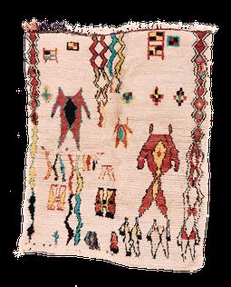 Vintage Azilal high pile Rug, berber tribal piece from Morocco. Handgeknüpfter Teppich aus Marokko. Teppich Laden in Zürich. Teppich Shop in Zurich.