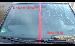 Nanoprotect Marine- Pearl & View - Regenabweiser - Unsichtbarer Scheibenwischer