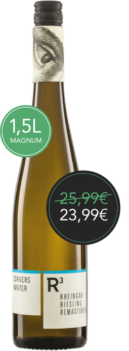 R3 Riesling -  1,5L Flasche