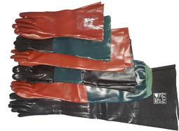 Sandstrahlhandschuh, Strahlerhandschuh, Strahlhandschuh, Chemikalienhandschuh, PVC-Handschuh, Vinylhandschuh, Schutzhandschuh