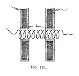A Tesla high-tension induction coil
