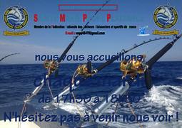 Le club de pêche en mer de Sainte Marie Pêche Plaisance SMPP 66470 assure une permanence tous les mardis soir à partir de 17 heures 30