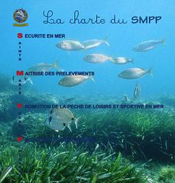 Le club de pêche en mer SMPP 66470 dans le 66 entre Le Barcarès et Canet en Roussillon décline sa charte