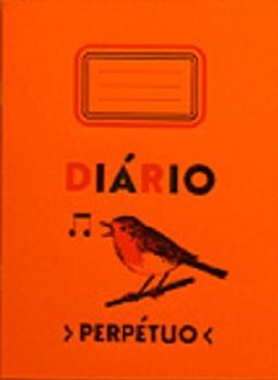 Caderno Diário Perpétuo (laranja) da Serrote