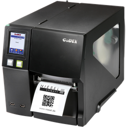 Industriedrucker Godex ZX1300i Niesel-Etikett
