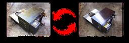 故障機とオーバーホール機交換イメージ