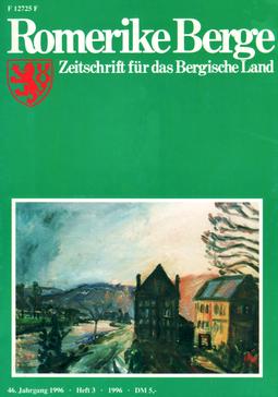 Romerike Berge Die Zeitschrift für das Bergische Land